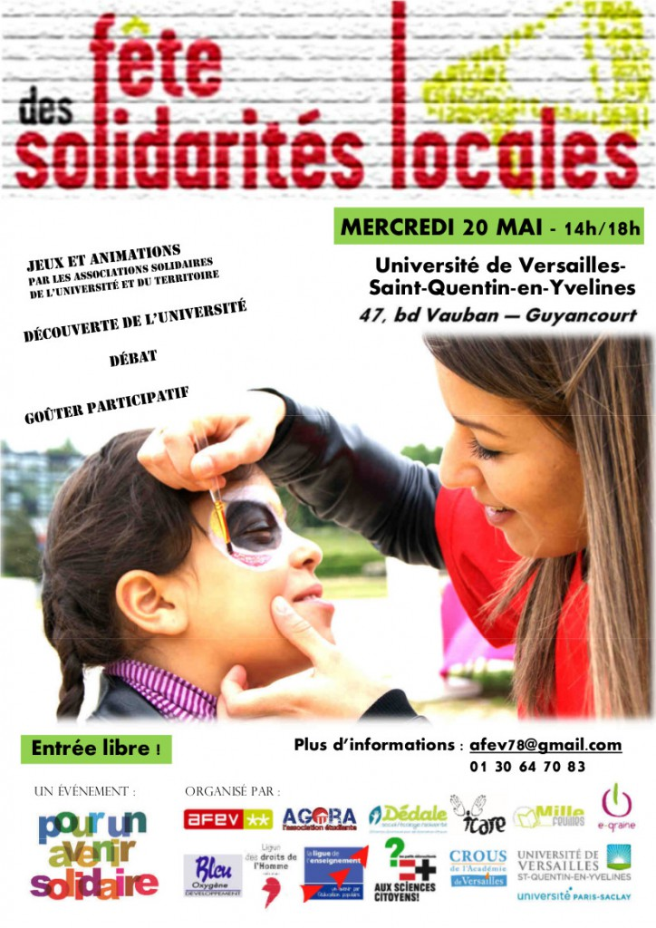Flyer - Fête des Solidarités locales