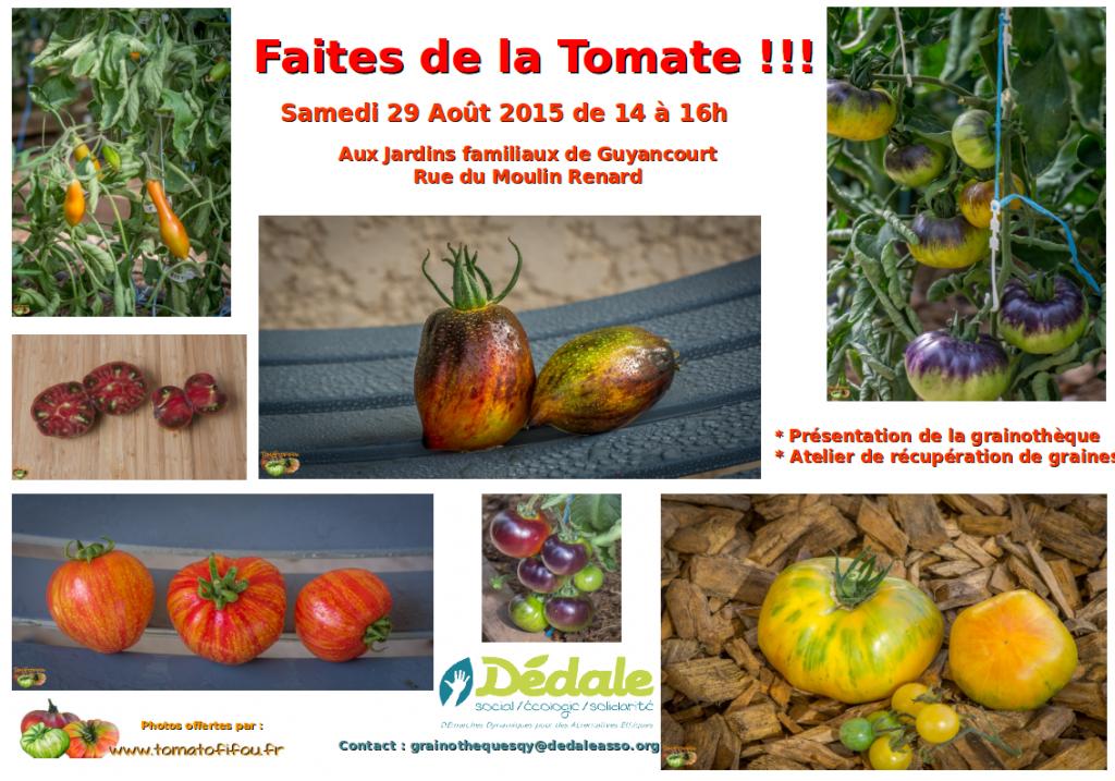 Faîtes de la Tomate