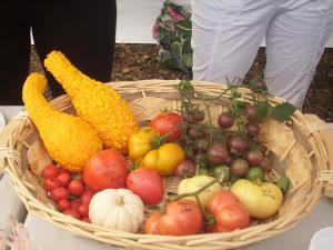 Corbeille de tomates