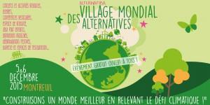 Read more about the article Nous serons au Village Mondial des Alternatives ! 🗓 🗺