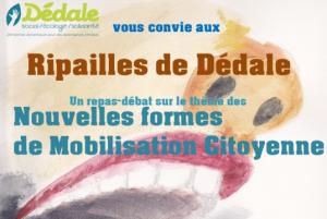 Ripailles de Dédale, 3 déc. à La Verrière, nouvelles formes de mobilisations citoyennes 🗓