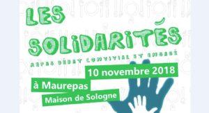 4e Ripailles de Dédale, sam. 10 nov. à Maurepas, «SolidaritéS» 🗓 🗺