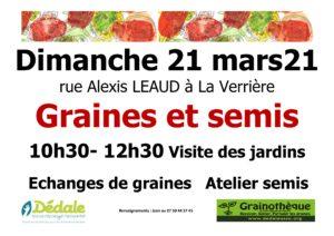 Read more about the article Échange de graines et atelier de semis à La Verrière 🗓
