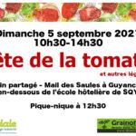 Fête de la tomate (et autres récoltes) 2021