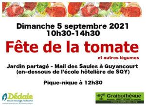 Read more about the article Fête de la tomate (et autres récoltes) 2021 🗓 🗺