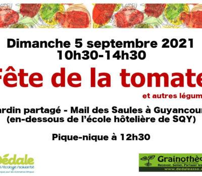 Fête de la tomate (et autres récoltes) 2021 🗓 🗺